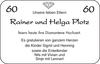 Rainer und Helga Plotz