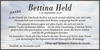 Bettina Held