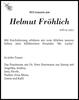 Helmut Fröhlich