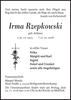 Irma Rzepkowski