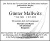 Günter Mallwitz