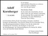Adolf Kornberger