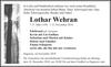 Lothar Wehran