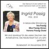 Ingrid Passig