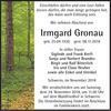 Irmgard Gronau