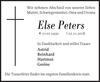 Else Peters