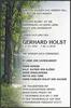 Gerhard holst