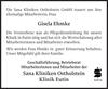Gisela Ehmke Sana Kliniken Ostholstein Klinik Eutin