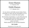 Ernst und Edith Hamm