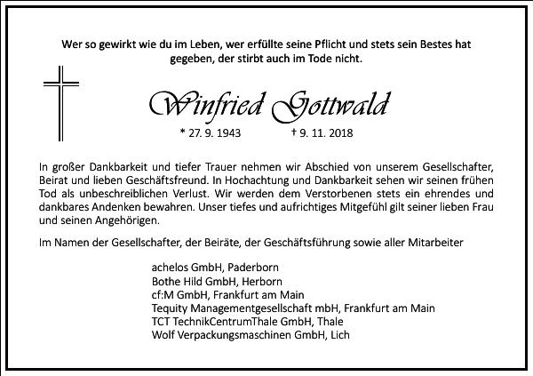 Winfried Gottwald