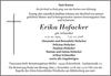 Erika Hofacker