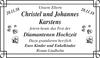 Christel und Johannes Karstens