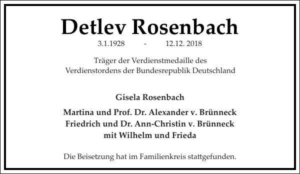 Detlev Rosenbach