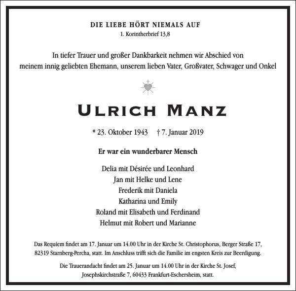 Ulrich Manz