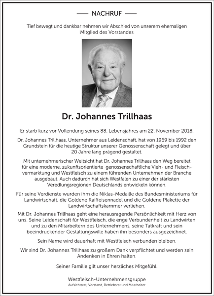 Dr. Johannes Trillhaas