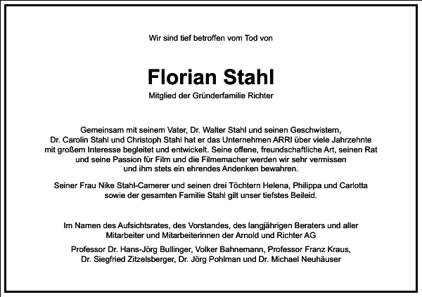 Florian Stahl