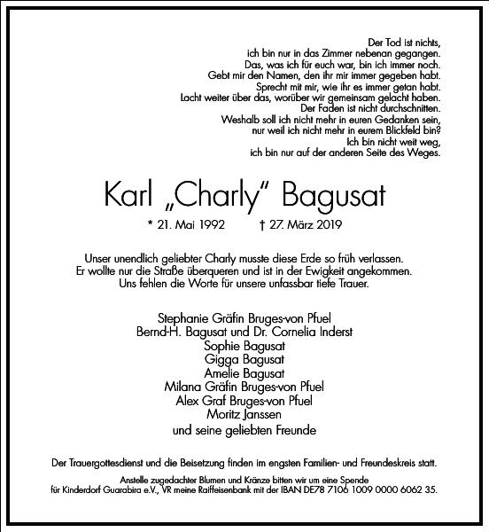 Karl Charly Bagusat