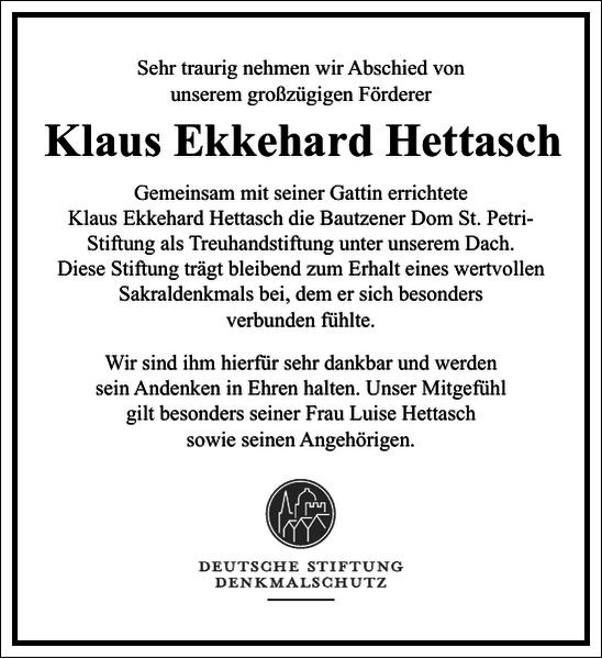 Klaus Ekkehard Hettasch