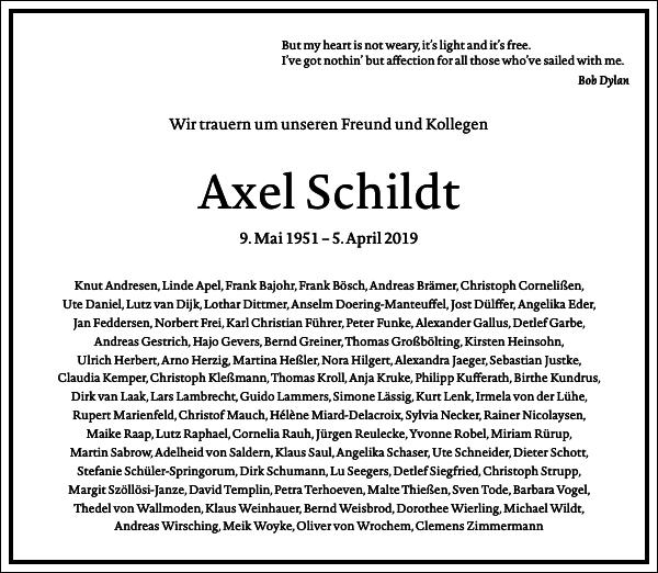 Axel Schildt
