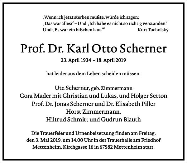 Karl Otto Scherner