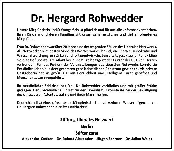 Dr. Hergard Rohwedder