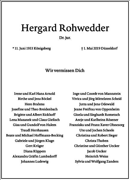 Hergard Rohwedder