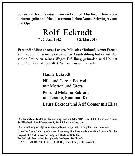 Rolf Eckrodt