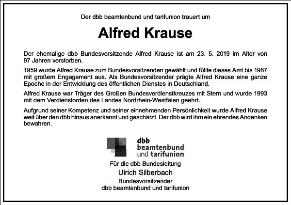 Alfred Krause