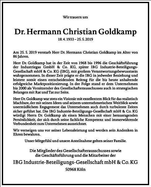 Hermann Christian Goldkamp