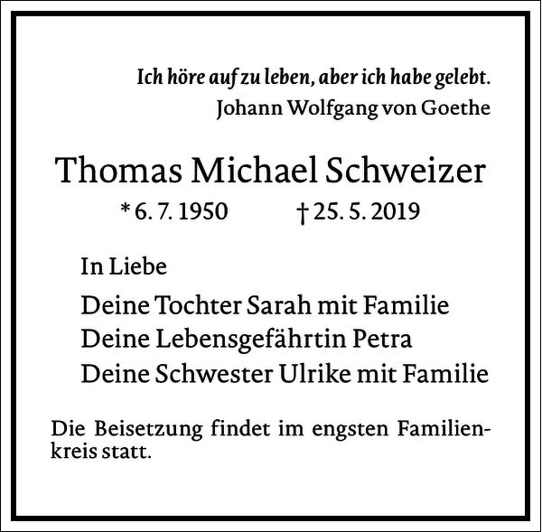 Thomas Michael Schweizer