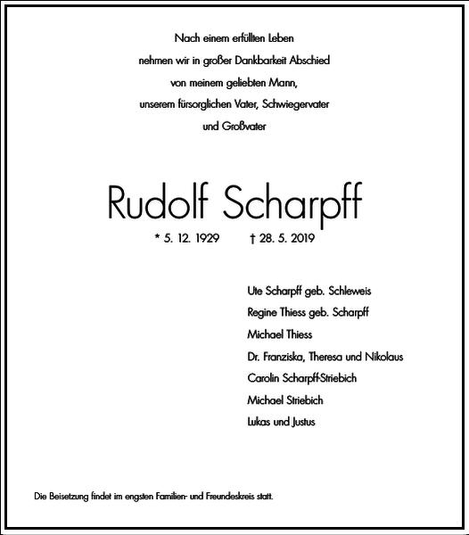 Rudolf Scharpff