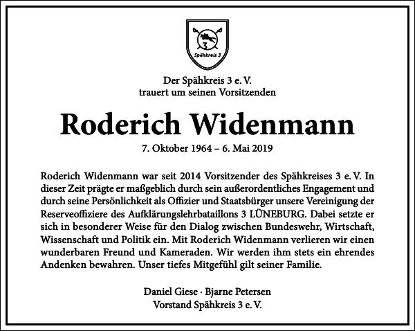 Roderich Widenmann