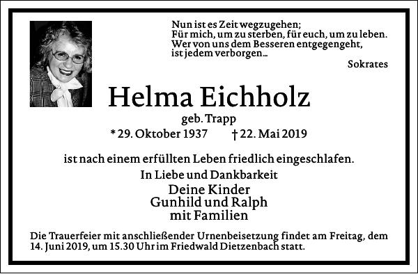 Helma Eichholz