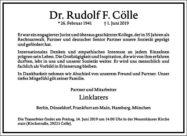 Rudolf F. Cölle