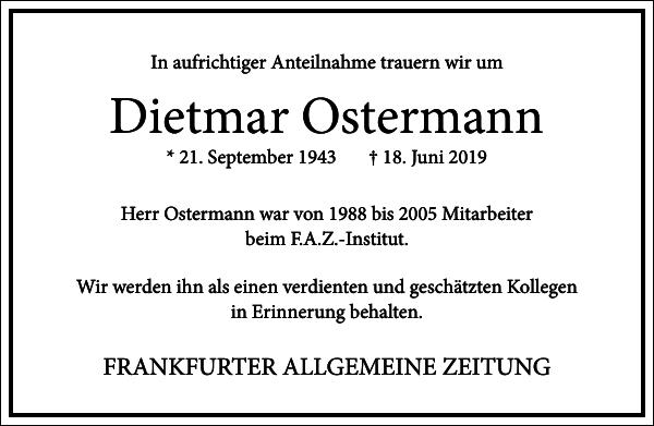 Dietmar Ostermann
