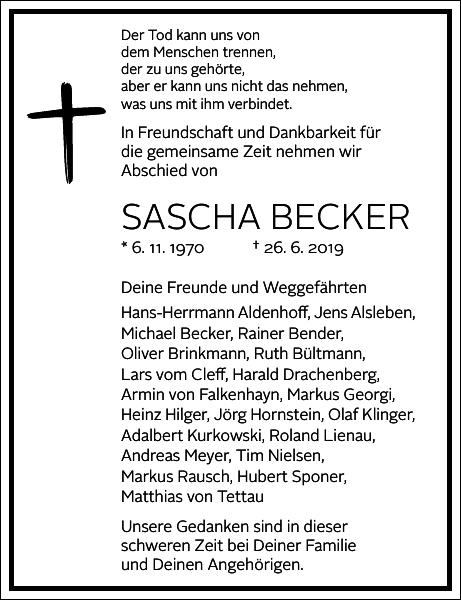 Sascha Becker