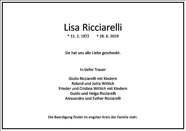 Lisa Ricciarelli