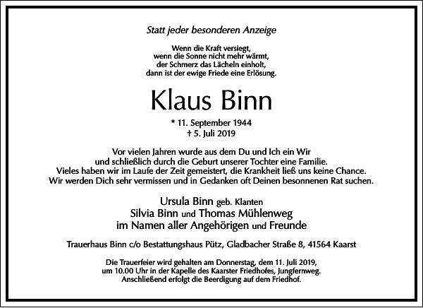Klaus Binn