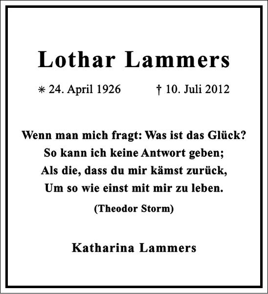 Lothar Lammers