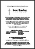 Richard Engelhorn : Unternehmensnachrufe