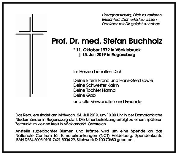 Prof. Dr. med. Stefan Buchholz