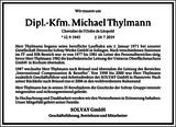 Michael Thylmann : Unternehmensnachrufe