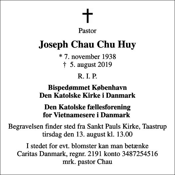Joseph Chau Chu Huy