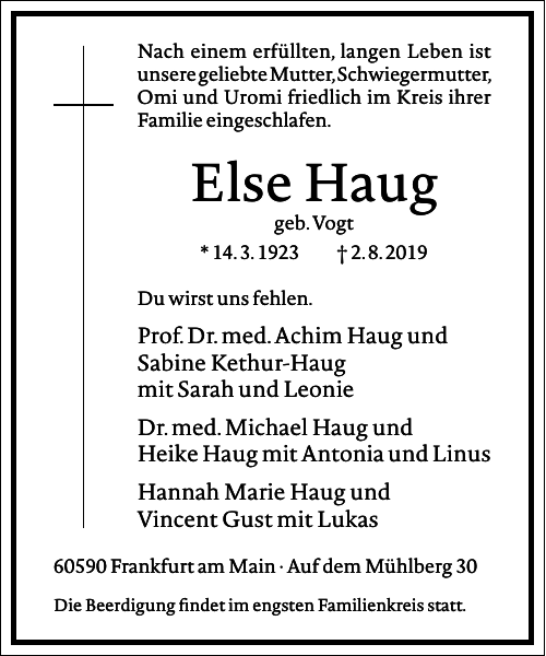 Else Haug