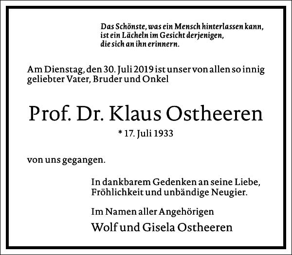 Klaus Ostheeren