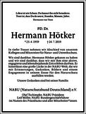 Hermann Hötker : Unternehmensnachrufe