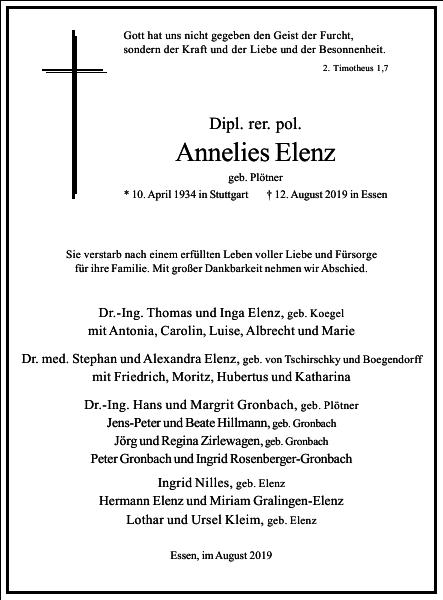 Annelies Elenz