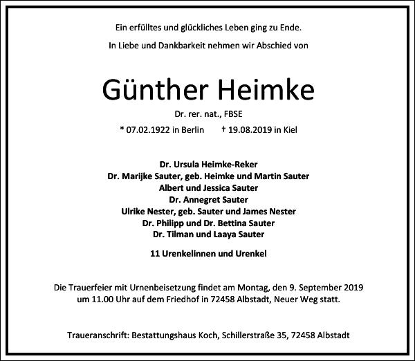 Günther Heimke