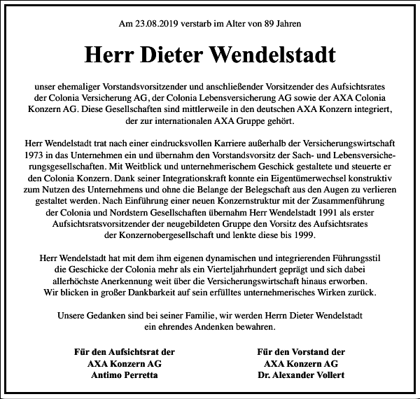 Dieter Wendelstadt