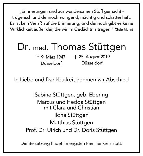 Dr. Thomas Stüttgen